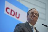 Armin Laschet, chef du gouvernement régional de Rhénanie-du-Nord-Westphalie et président de l'Union chrétienne-démocrate (CDU), le 20 avril.