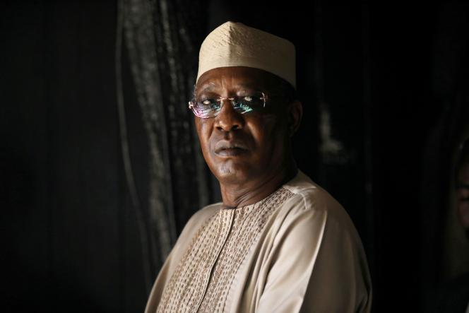 Idriss Déby, le président tchadien, dont la mort a été annoncée mardi 20 avril 2021.