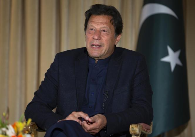 Imran Khan, le premier ministre pakistanais, à Islamabad, le 16 mars 2020.