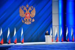Le président russe, Vladimir Poutine, le 21 avril.