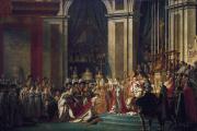 Dans «Le Sacre de Napoléon» (1805-1808), le peintre Jacques-Louis David a pris des libertés avec la réalité historique.