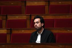 Le député LRM Mounir Mahjoubi, à l'Assemblée nationale, à Paris, le 28 avril 2020.