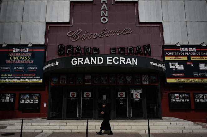 Un cinéma à Bergerac (Dordogne), le 20 avril.