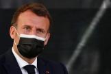 Emmanuel Macron, à Montpellier, le 19 avril.