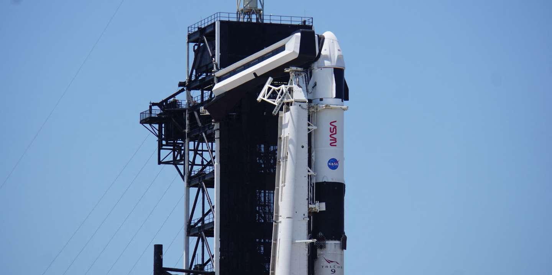 SpaceX se prépare à envoyer quatre astronautes vers la Station spatiale internationale