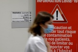 Dans le service de réanimation de l'hôpital de Valenciennes (Nord), le 22 avril.