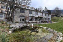La communauté autonome de Sainte-Croix où Mia et sa mère ont été retrouvées, dans le canton de Vaud, en Suisse, le 18 avril.