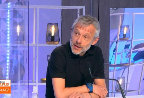 Pierre Mathiot était l'invité de l'émission Le Monde Campus-Le Mag à Lille.