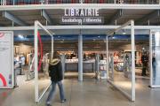 La librairie du centre Pompidou, à Paris, en 2010.