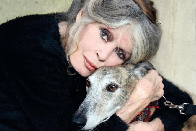 L'ex-actrice Brigitte Bardot, présidente d'une fondation portant son nom et défendant la cause animale.