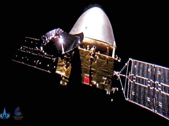 La sonde Tianwen-1 en route vers Mars, le 16 décembre 2020.