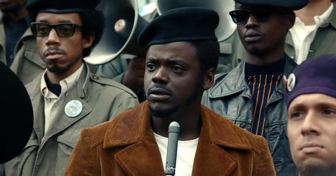 Daniel Kaluuya dans le rôle de Fred Hampton,leader des Black Panthers assassiné à Chicago le 4 décembre 1969.