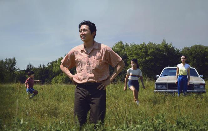 Steven Yeun (au premier plan), dans« Minari», film américain de Lee Isaac Chung.