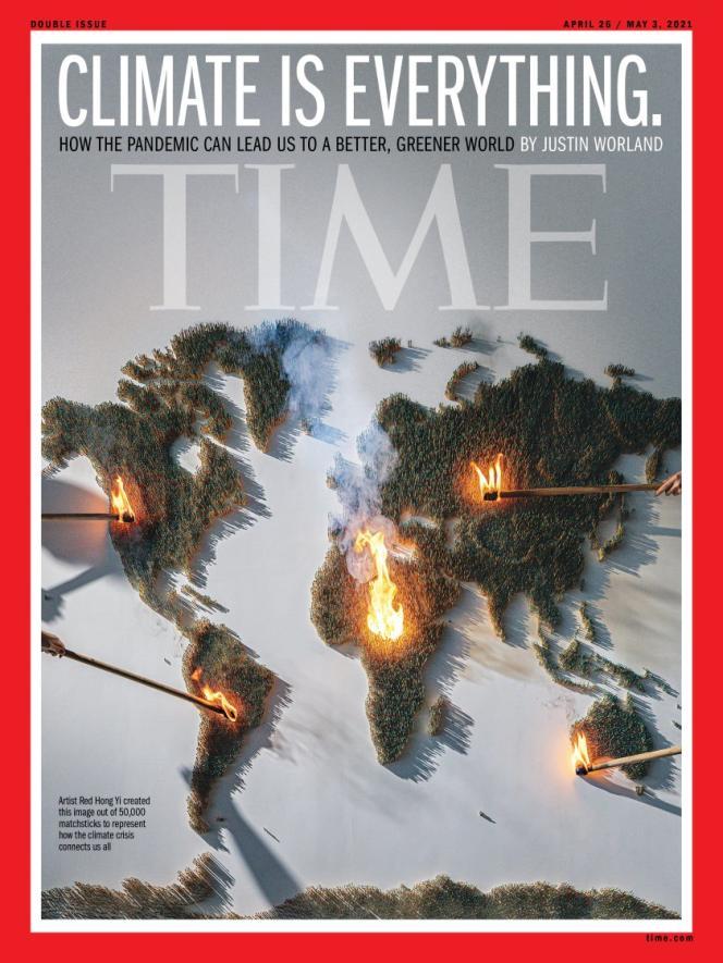 La couverture de« Time Magazine», le 26 avril.