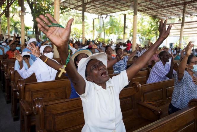 Des messes avaient été célébrées le 15 avril en Haïti en signe de protestation et pour exiger la libération des otages.
