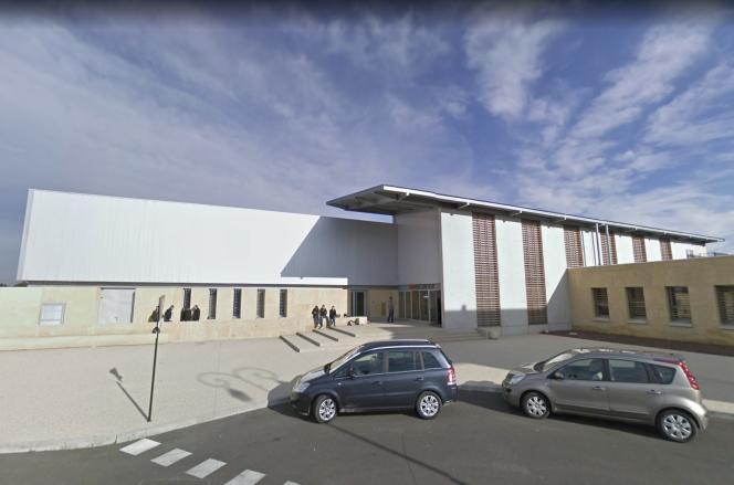 Une capture d'écran sur Google Street View du lycée Jean-Vilar à Villeneuve-lès-Avignon, le 27 avril 2021.