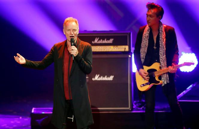 Sting in Berlin, November 22, 2019.