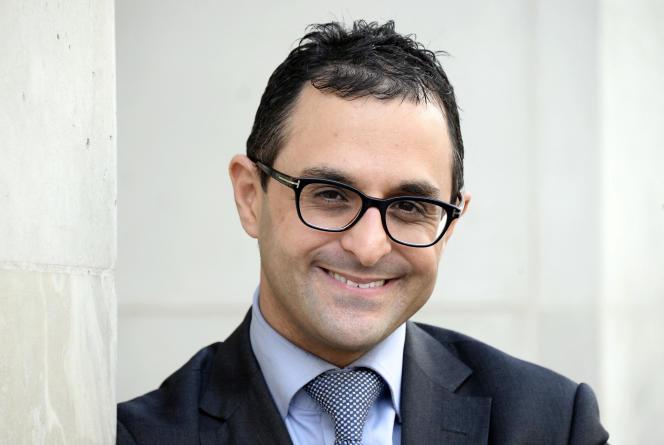 Arash Derambarsh, en 2015, à Paris.