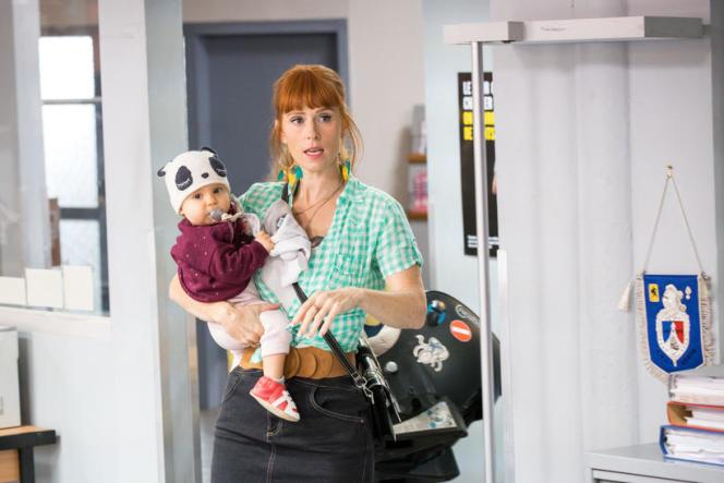 Morgane Alvaro incarnée par Audrey Fleurot dans la série HPI sur TF1.