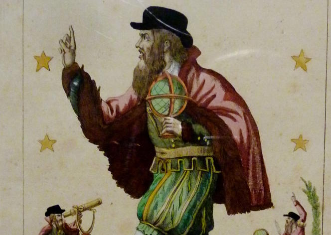 «Portrait véritable et remarquable du fameux Michel Nostradamus, astrologue célèbre» (par Jean, éditeur à Paris, avant 1837).