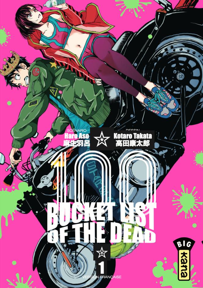 La couverture du nouveau manga de Haro Aso et Kotaro Takata.