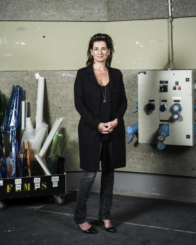 La productrice française Sidonie Dumas, à Paris, en 2016.
