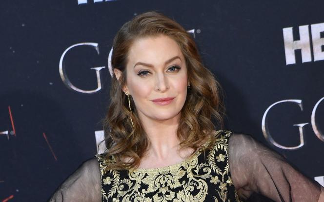 L'actrice britannique Esmé Bianco, le 3 avril 2019, lors de la présentation de l'ultime saison de la série« Game of Thrones», à New York.