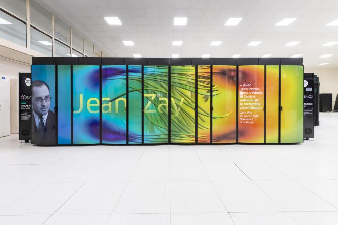 Le supercalculateur Jean Zay, localisé sur le plateau de Saclay, va mettre à la disposition du projet «Big Science» 5 millions d'heures de calcul.