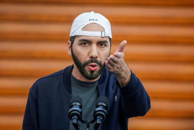 Le président du Salvador, Nayib Bukele, le 17 février 2021.