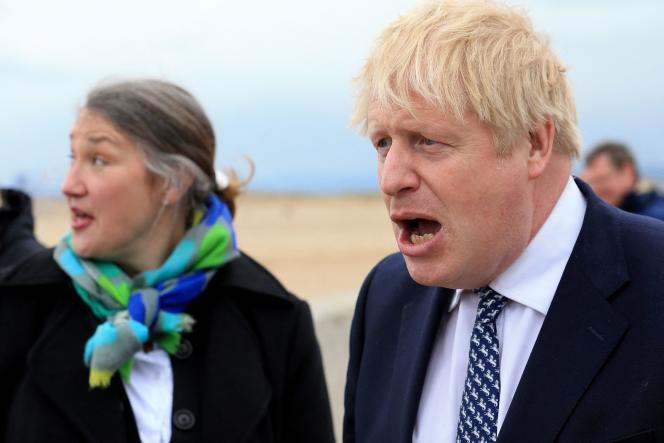 Jill Mortimer and Boris Johnson, May 3, 2021.
