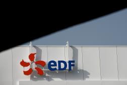 Un bâtiment portant le logo d'EDF, à Paris, le 2 mars 2021.