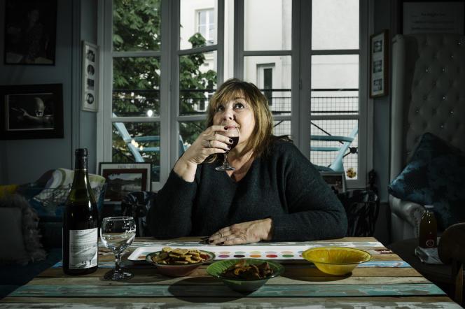 Michèle Bernier, comédienne et humoriste, à Paris, le 7 avril 2021.