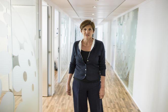 Michèle Léridon, à Paris, le 23 juin 2014.