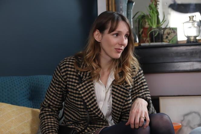 Pauline Clément dans la minisérie « Fluide », diffuséesur Arte.tv.