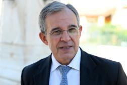 Le député européen Thierry Mariani (RN), à Marseille, le 4 mai 2021.