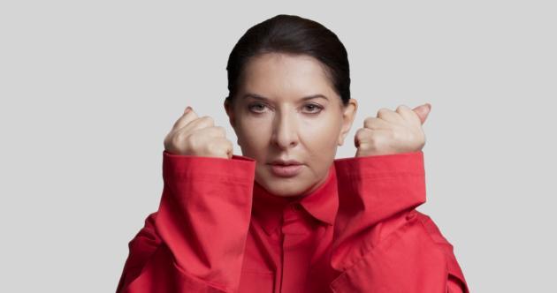L'artiste serbeMarina Abramović.