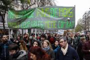 Une marche contre le changement climatique, à Paris, le 8 décembre 2018.