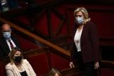 Marine Le Pen à l'Assemblée nationale le 4 mai 2021.