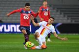 Lors de la rencontre Lille-Lens, le 18 octobre 2020, au stade Pierre-Mauroy, à Lille.
