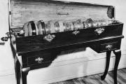 L'harmonica de verre développé par Benjamin Franklin.
