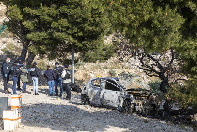 Le corps d'un homme a été retrouvé dans une voiture carbonisée à L'Estaque, le 6 janvier.