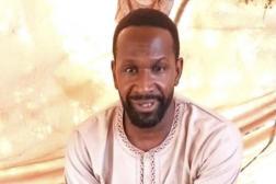 Le journaliste français basé au Mali Olivier Dubois, dans une vidéo diffusée sur les réseaux sociaux dans la nuit du 4 au 5 mai 2021.