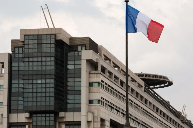 Le ministère de l'économie et des finances, à Paris, en 2012.