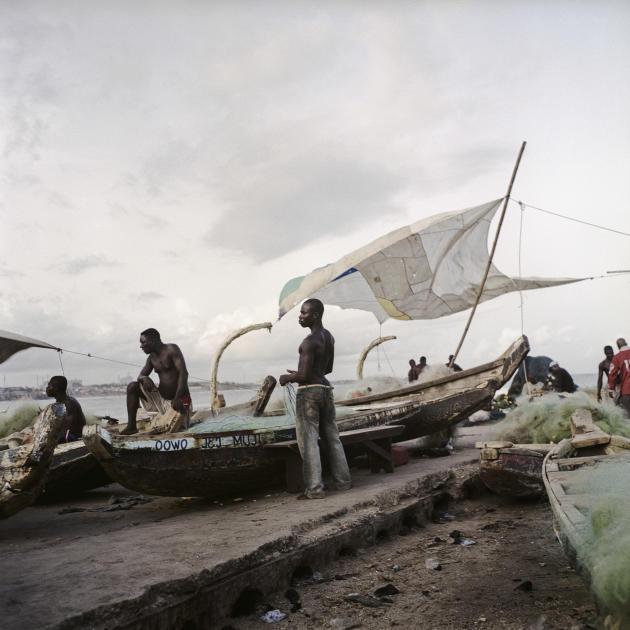 Ghana, Accra, 2009 Port de Pêche, «James Town».