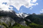La Meije et son glacier, au-dessus deLa Grave (Hautes-Alpes), en juin 2017.
