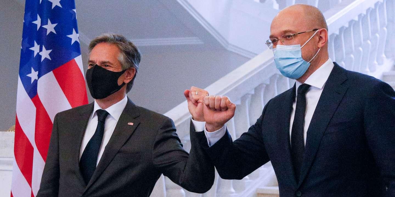 A Kiev, le chef de la diplomatie américaine réaffirme le soutien des Etats-Unis à l'Ukraine face à Moscou