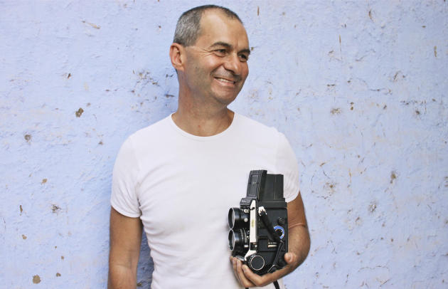 Denis Dailleux, photographe de l'agence VU.