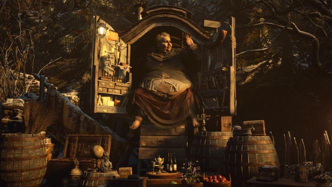 Parmi les personnages grotesques du village, le Duc est un géant énigmatique qui concocte des petits plats et cache un arsenal dans sa caravane.