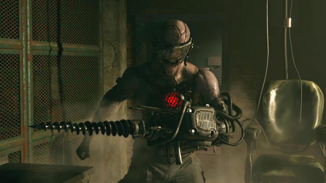 Mi-zombie mi-perceuse, ce monstre a vraiment envie de jouer avec vous.