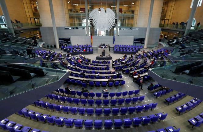 Au Bundestag, à Berlin, le 6 mai 2021.
